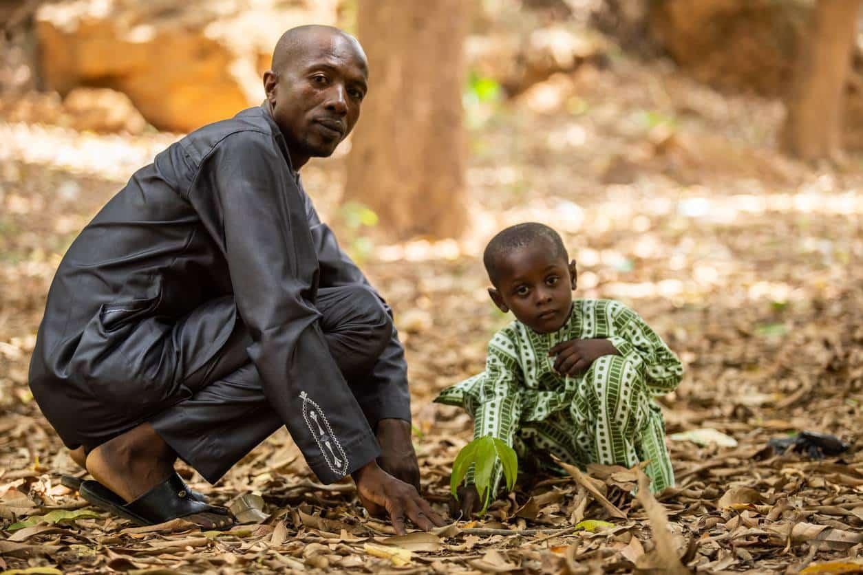 pueblo nómada del Sahel, forma de vida